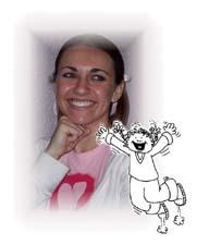 An image of the SKITuations character Tina.