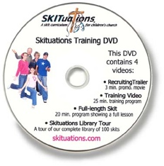 A SKITuations Training DVD image.