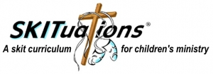 SKITuations, children's church drama curriculum logo