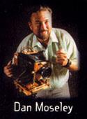 A portrait of Dan Moseley.