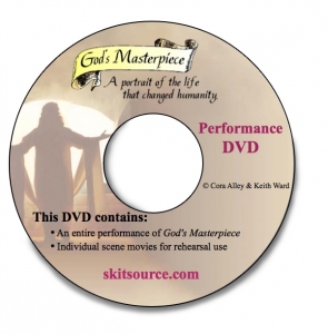 God's Masterpiece Performance DVD image.