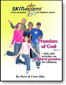 The cover of a SKITuations volume - Vol. 10 - Promises of God
