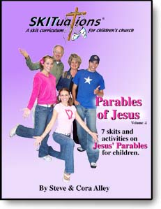 The cover of a SKITuations volume - Vol. 4 Parables of Jesus (HS)