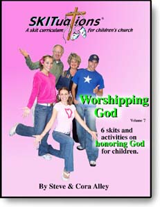The cover of a SKITuations volume - Vol. 7 - Worshipping God