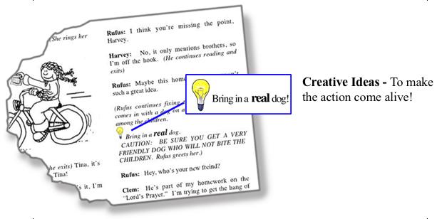 An image of the SKITuations creative idea suggestion.