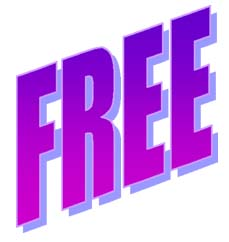 An image of the word FREE