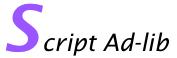 Script adlib