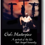 "The front of the program for ""God's Masterpiece."""