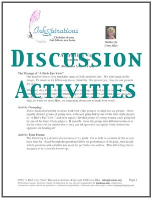 Discussion Activities For 'A Bird's Eye View'