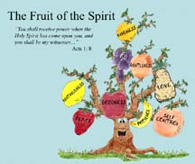 An image of the Fruit of the Spirit PowerPoint - (Electronic)