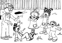A cartoon drawing of a SKITuations script - Love