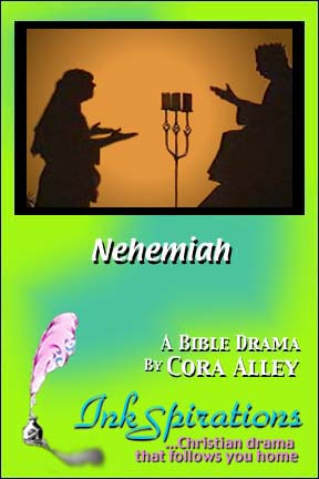 A cover image for an InkSpirations Christian drama script.
