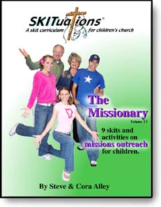The cover of a SKITuations volume - Vol. 13 - The Missionary