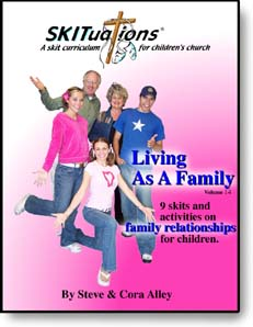 The cover of a SKITuations volume - Vol. 14 - Living As A Family