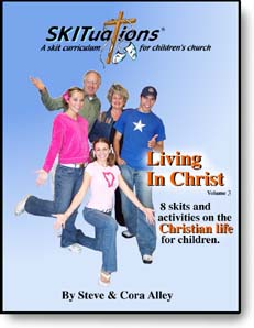 The cover of a SKITuations volume - Vol. 3 - Living In Christ