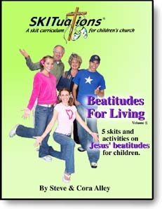 The cover of a SKITuations volume - Vol. 8 - Beatitudes For Living
